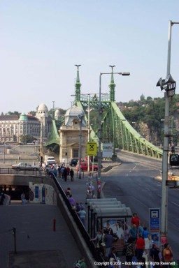 Chain Bridge from Buda to Pest
