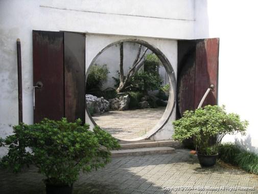 Doorway in Suzhou