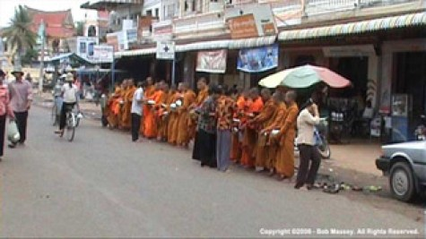 Monks at Kampong Chang