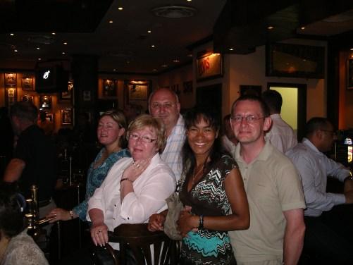 Family Group at the Hard Rock Cafe Dubai May 2007 @ Tolfalas.com