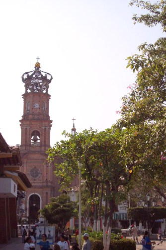 Church of our Lady of Guadaloupe in Puerto Vallarta - at Tolfalas.com