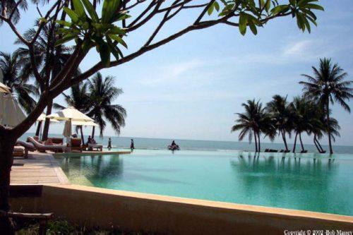 Hotel Pool - Evason Pranburi - on a sunny day - from Tolfalas.com