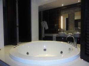 Bathroom at Crystals Beach - Mauritius @Tolfalas.com