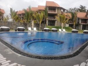 Pool at Crystals Beach - Mauritius @Tolfalas.com