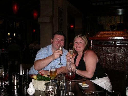 Bill & Karen on my 50th Birthday @ Tolfalas.com