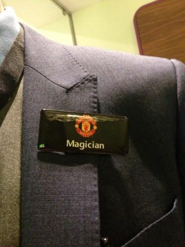 Magician at Old Trafford @ Tolfalas.com