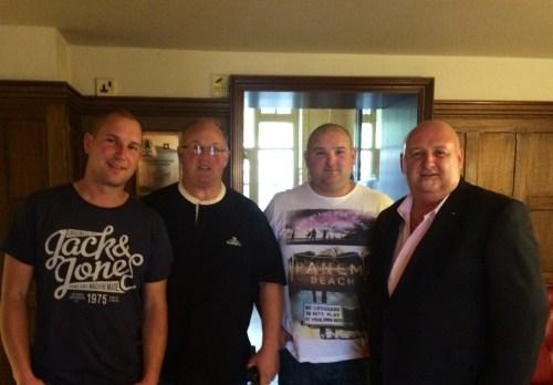 Meeting Dave, Paul and Richard Massey @ Tolfalas.com
