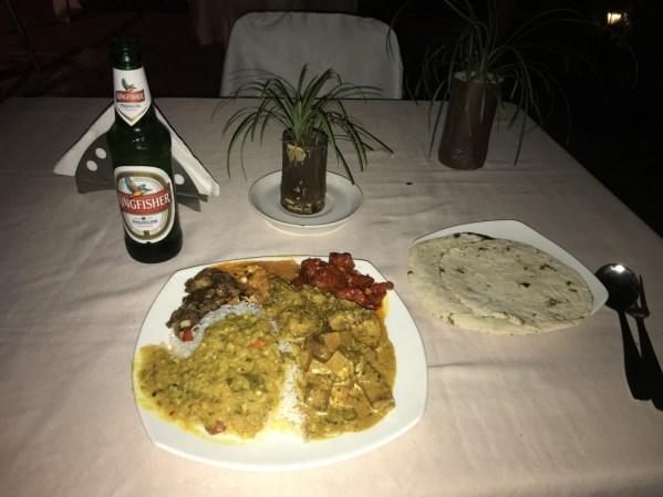 Dinner at the Hotel Santiago, Calangute @ Tolfalas.com