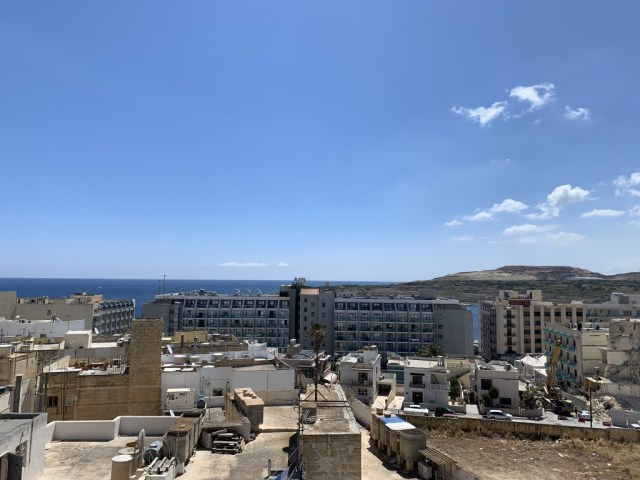 View from the Rooftop Bar - Hotel Santana, Qawra
