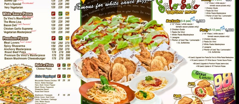 da vinci's pizza delivery Gaisano Fiesta Mall Tabunok