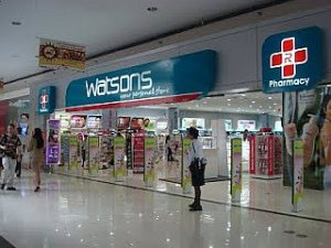 watoson's mall of asia