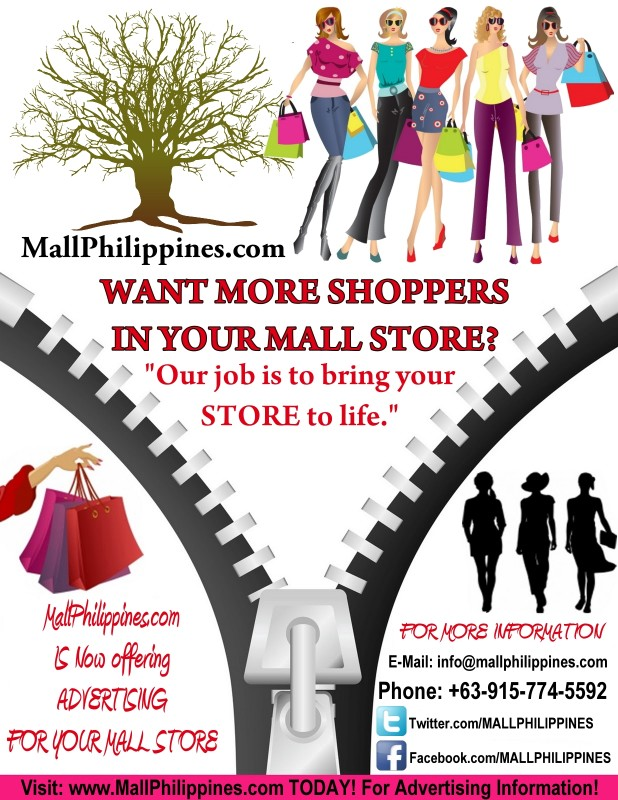 mall store ads flyer