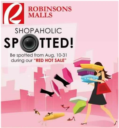 robinsons mall magnolia department store red hot sale promo
