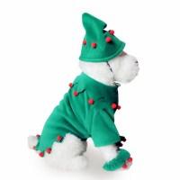 Christmas Elf Dog Costume XT12356