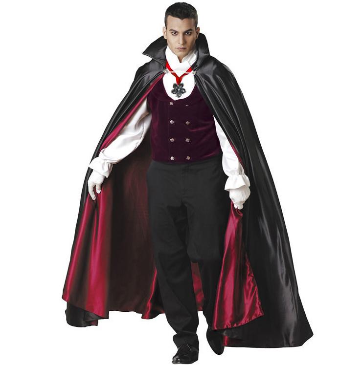 Super Deluxe Gothic Vampire Costume N4790