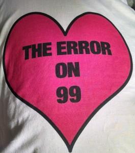 The_Error_on_99_T-shirt