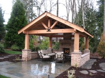Covered Patios - Malone' Landscape