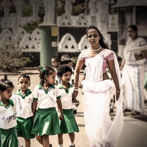 Sri Lankan School Excursion
