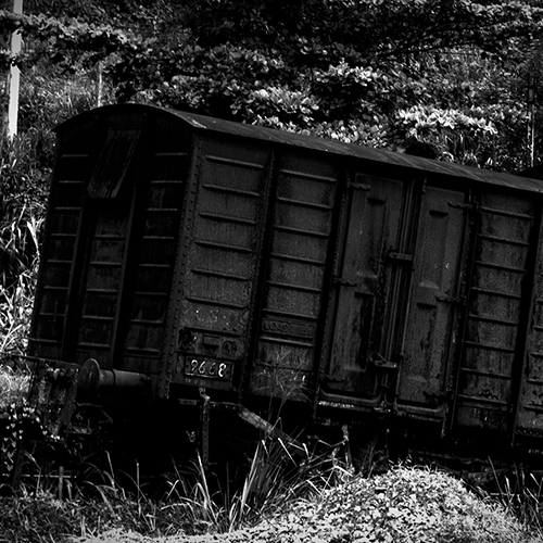 Scrapped goods wagon