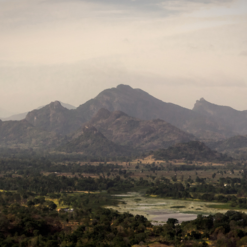 Sigiriya Mountains View