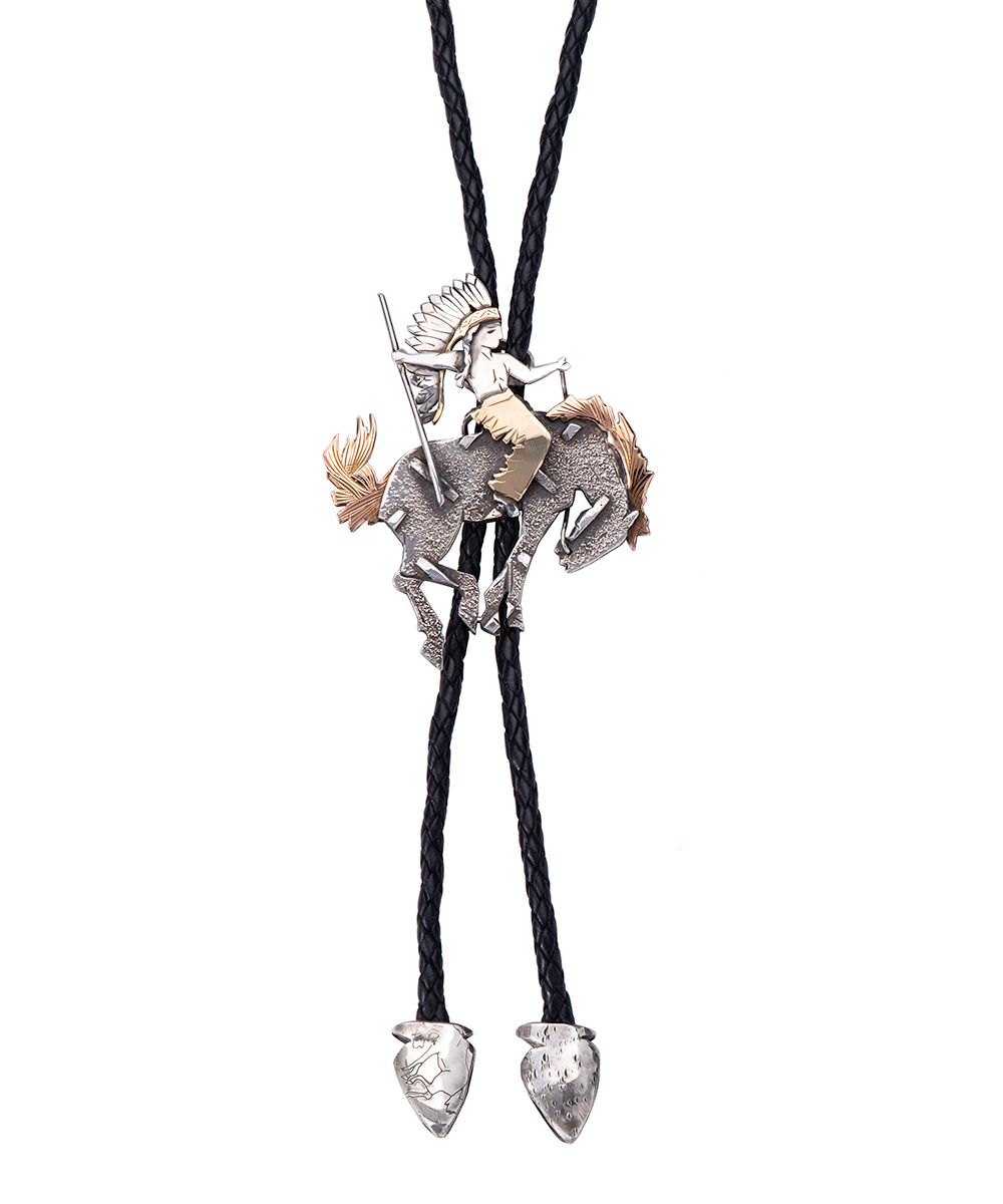 Space Pony Bolo Tie handmade by the fabulous artist Nick