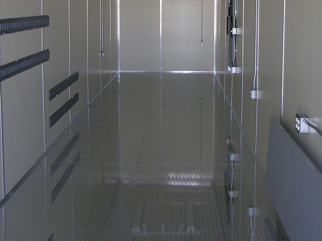 Special Flooring Services of Maloy Mobile Storage