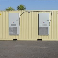 Air Conditioner Container Century Ac Motor Wiring Diagram 115 Volts Types Of Hvac Systems For Storage Albuquerque Nm