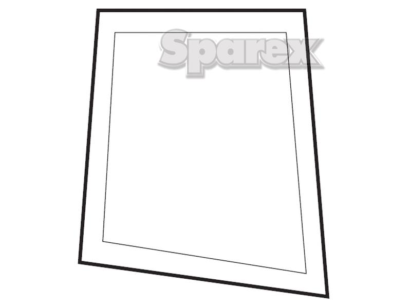 S.10085 Upper Door Glass RH for Ford New Holland 5610 (10