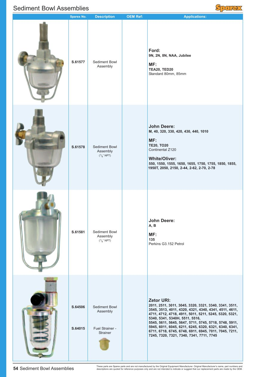 hight resolution of parts lists fuel injection front cover page 56