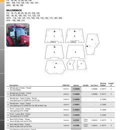 parts lists cab glass case ih page 14  [ 893 x 1263 Pixel ]