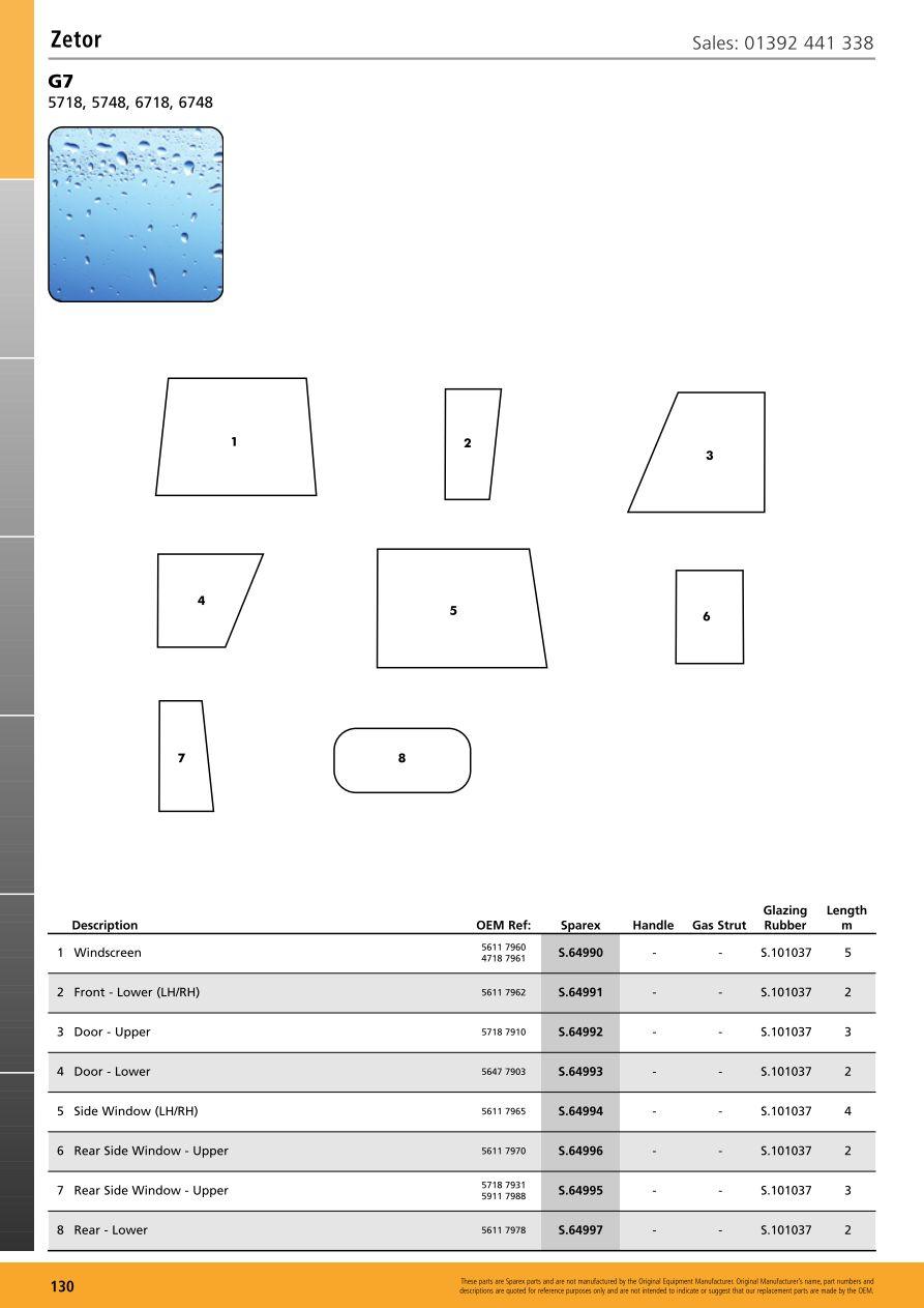 medium resolution of s 70330 cab glass cb17 130