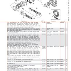 Massey Ferguson 175 Parts Diagram Alternator Internal Wiring Rear Axle (page 295) | Sparex Lists & Diagrams Malpasonline.co.uk