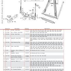 Massey Ferguson Wiring Diagram Sunpro Super Tach Rear Linkage (page 322)   Sparex Parts Lists & Diagrams Malpasonline.co.uk
