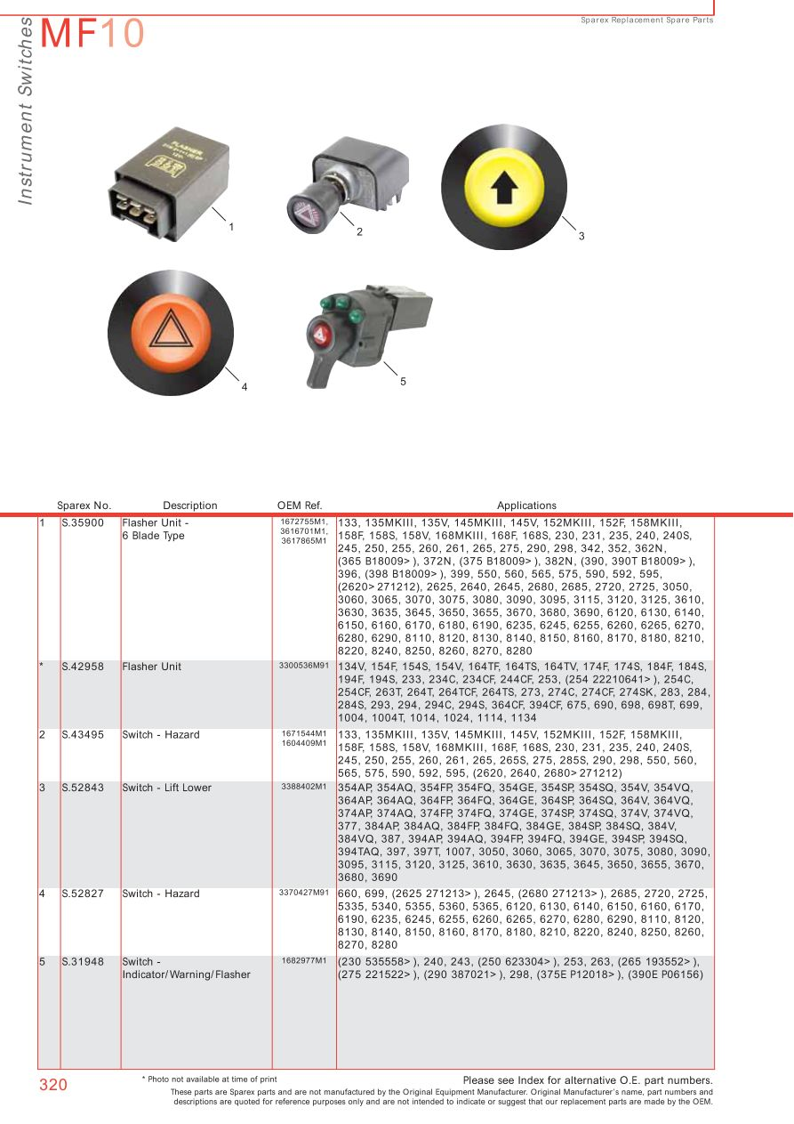 Lights Wiring Diagram Massey Ferguson Electrics Amp Instruments Page 330