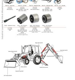 parts lists massey ferguson industrial loader seal kits page 372  [ 893 x 1263 Pixel ]