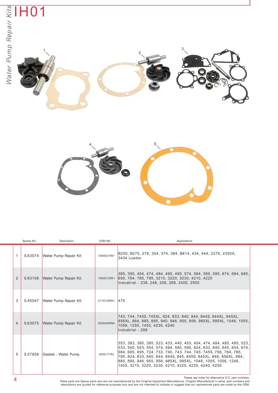 hight resolution of parts lists case ih catalogue cooling page 10