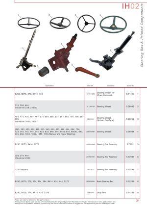 Case IH Catalogue Front Axle (Page 27) | Sparex Parts Lists & Diagrams | Malpasonlinecouk