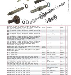 case ih catalogue transmission pto page 109 sparex parts lists farmall international tractor [ 893 x 1263 Pixel ]