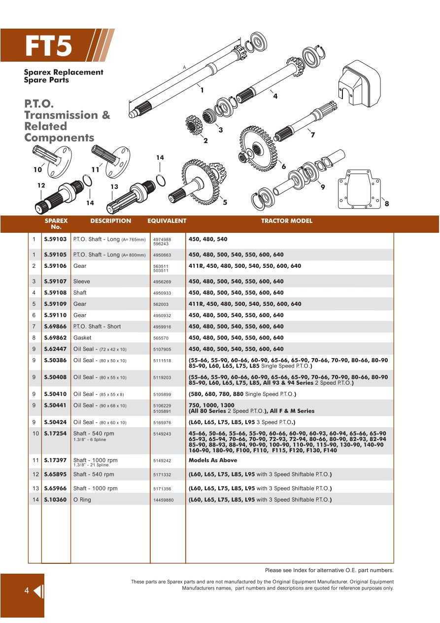 hight resolution of parts lists fiat transmission page 86