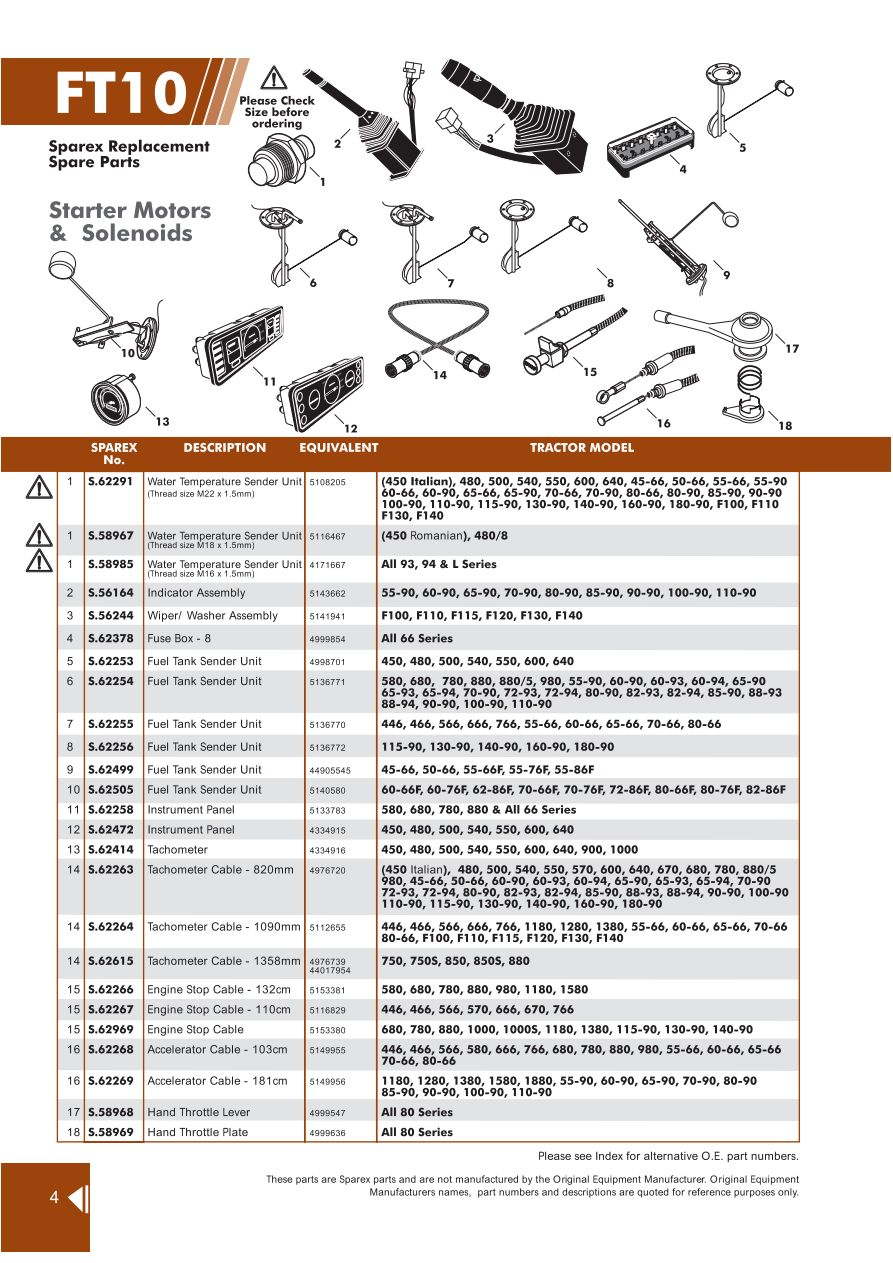 hight resolution of parts lists fiat electrical page 112