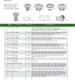 john deere contents page 10 sparex parts lists diagrams including john deere 820 john deere 6200 fuse box  [ 893 x 1263 Pixel ]