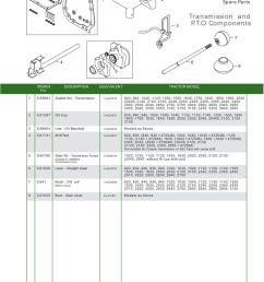 parts lists john deere transmission pto components page 73  [ 893 x 1263 Pixel ]