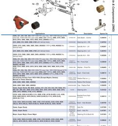 parts lists ford front axle page 39  [ 893 x 1263 Pixel ]