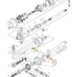 fd02 57 ford front axle page 63 sparex parts lists diagrams 6610 ford tractor [ 893 x 1263 Pixel ]