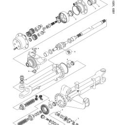 parts lists ford front axle page 69  [ 893 x 1263 Pixel ]