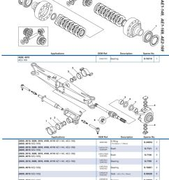 ford 73 parts diagram wiring diagram third levelford front axle page 73 sparex parts [ 893 x 1263 Pixel ]