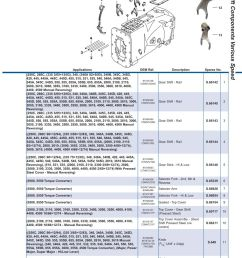 parts lists ford transmission p t o page 213  [ 893 x 1263 Pixel ]