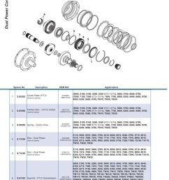 parts lists ford transmission p t o page 214  [ 893 x 1263 Pixel ]