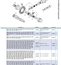 parts lists ford rear axle page 247  [ 893 x 1263 Pixel ]
