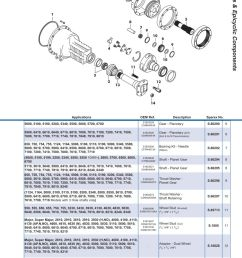 parts lists ford rear axle page 251  [ 893 x 1263 Pixel ]